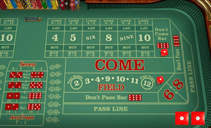 casino craps online free