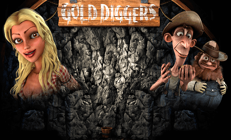 Gold Diggers Slot Machine Online ᐈ BetSoft™ Casino Slots