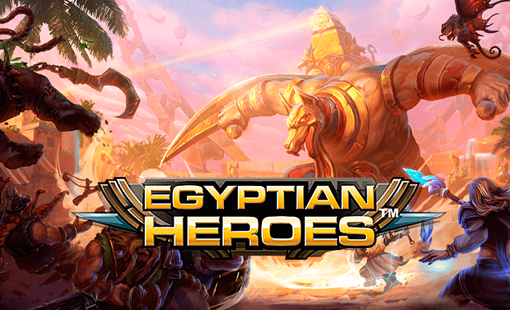 Egyptian Heroes™ Slot Machine Game to Play Free in NetEnts Online Casinos