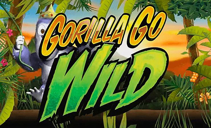 Gorilla Go Wild™ Slot Machine Game to Play Free in NextGen Gamings Online Casinos