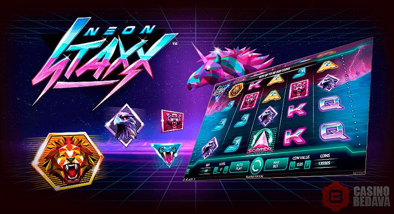 neon staxx netent slot oyunu
