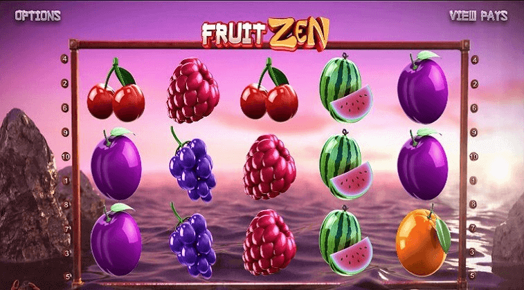 fruit zen betsoft slot oyunu