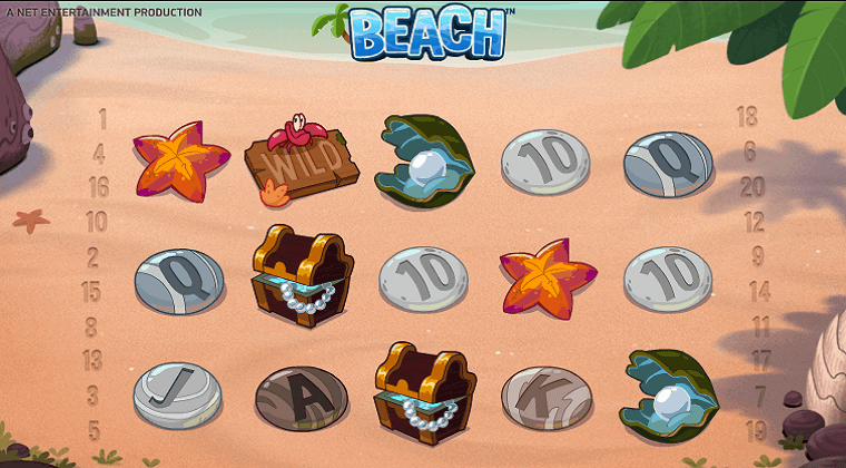 beach netent slot oyunu
