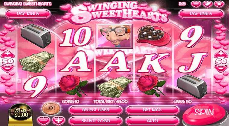 swinging sweethearts rival slot oyunu