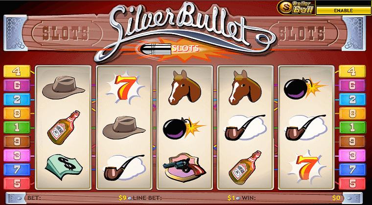silver bullet playtech slot oyunu