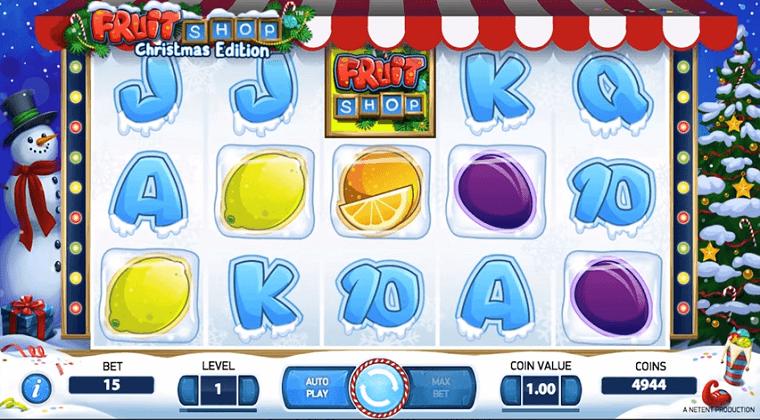 fruit shop christmas edition netent slot oyunu