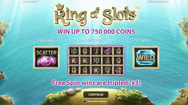 king of slots netent slot oyunu