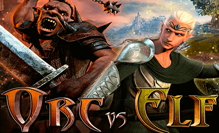 Orc vs Elf Slot Machine - Play for Free Online