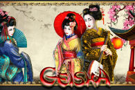 Geisha slot machine game